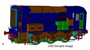 7D-008-017 Class 08 709 EWS O GAUGE