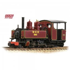 391-031DSBaldwin 10-12-D Tank 590 Welsh Highland Railway Lined Maroon SOUNDS FITTED