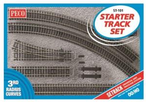 ST101 STARTER TRACK SET 3RD RADIUS