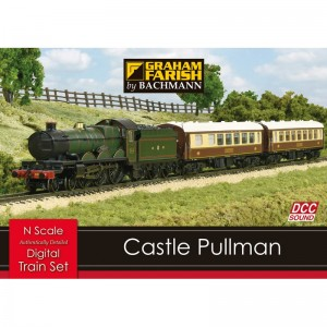 370-160 CASTLE PULLMAN DIGITAL SOUND TRAIN SET N GAUGE