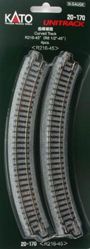 K20-170 KATO UNITRACK R216-45