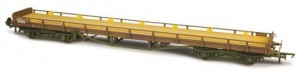 OR76CAR002  Oxford Rail Carflat BR Fade / Worn