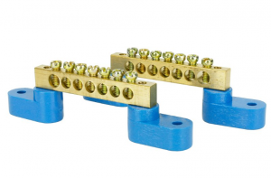 DCC-Bbar2 Solid Brass Power  Distribution Bars  (2 Pack)