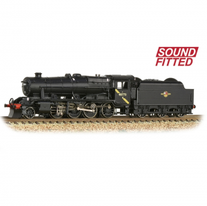 372-163DS  Stanier 8F 48773 BR Black (Late Crest) Sound fitted
