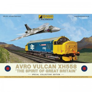 370-375 Avro Vulcan XH558 Collectors Pack 'THE SPIRIT OF GREAT BRITAIN'
