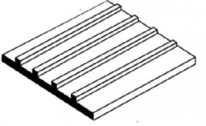 EVG4525 E1 METAL SIDING 0.75MM SPACING