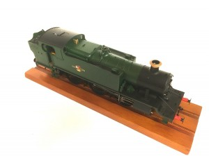 6122 GWR/BR 61xx Large Prairie BR Late Crest Unnumbered O GAUGE