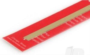 8240 BRASS STRIP 0.032 X 1/4 INCH