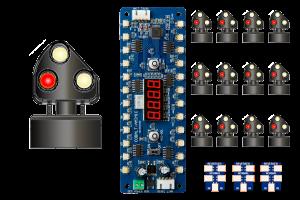 DCD-MGS-BR ALPHA MIMIC 12x LMS/BR Ground Signal