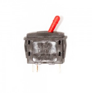 PL26R PASSING CONTACT SWITCH. RED LEVER