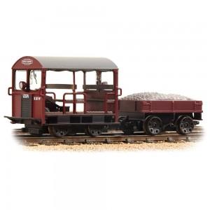 32-991 Wickham Type 27 Trolley Car BR Maroon OO GAUGE