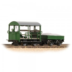 32-994 Wickham Type 27 Trolley Car BR Green OO GAUGE