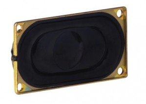 DSS224 Speaker, rectangular, 4ohm, 3W, 40x20mm
