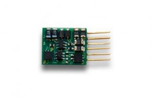 DZ126IN 1 Amp Z / N / HO Scale Decoder with 6 Pin NEM 651 type plug