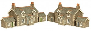 PN155 N SCALE WORKERS COTTAGES