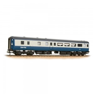 """39-700DC """"Aircon"""" BSO brake second open in BR blue and grey - DCC fitted with interior lighting"""