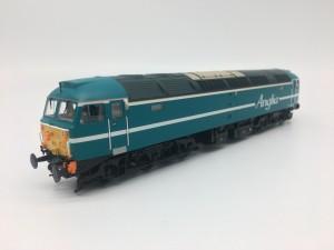 32-817SD CLASS 47 ANGLIA BLUE