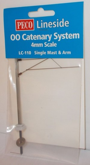 LC110 OO CATENERY SYSTEM SINGLE MAST