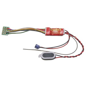 SDXN136PS Premium 1 Amp Sound Decoder N Scale