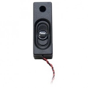 SP531832B Rectangular 53mm x 18mm x 14mm 32 Ohm Box Speaker with enclosure & wires