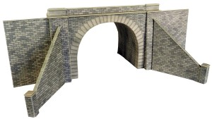 PO242 DOUBLE TRACK TUNNEL ENTRANCES OO GAUGE