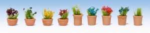 GM107 FLOWERS IN POTS SET 2