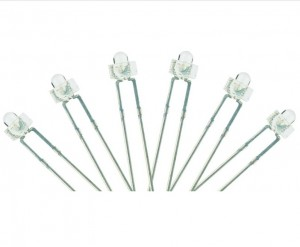 LED-RDD Panel Dot Type  6x 1.8mm (w/resistors)  Red