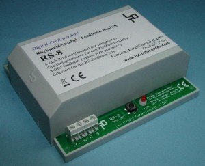 RS-8-G LENZ FEEDBACK MODULE CASED
