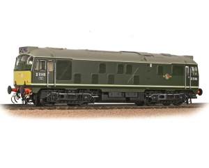 32-441 BR CLASS 24/1 Green with Small Yellow Warning Panel