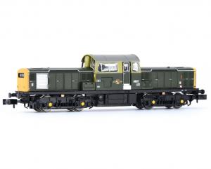 E84504 CLASS 17 BR GREEN FULL YELLOW