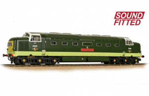 32-529CSF Class 55 D9010 'The King's Own Scottish Borderer' BR Green Sound fitted