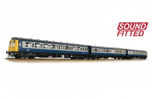35-501SF Class 117 3 Car DMU BR Blue & Grey (Soundfitted)