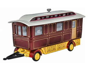 Showmans Caravan Maroon
