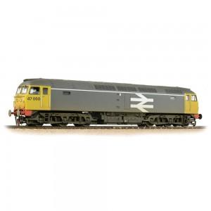31-664 CLASS 47/0 RAILFREIGHT GREY - WEATHERED