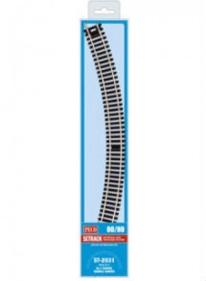 ST2031 3rd RADIUS DOUBLE CURVES (4 PACK)