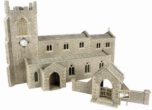 PO226 PARISH CHURCH OO GAUGE