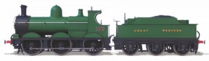 OR76DG003XS OXFORD RAIL Dean Goods Steam Locomotive Great Western 2475 (DCC-Sound)