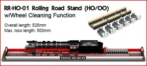 PRR-HO-01 ROLLING ROAD & WHEEL CLEANER