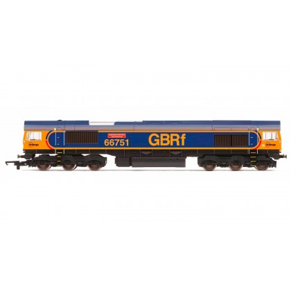 R3573 GBRf, Class 66, Co-Co, 66751 'Inspiration Delivered - Hitachi Rail Europe'