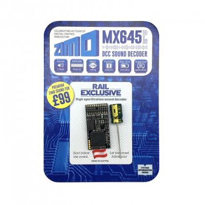 MX645P22 1.2A 9 function sound decoder Plux 22
