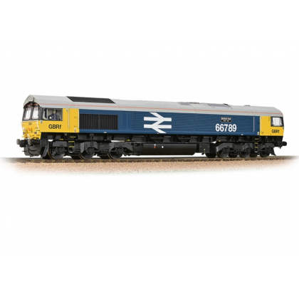32-740 Class 66/7 66789 'British Rail 1948-1997' GBRf BR Blue (Large Logo)